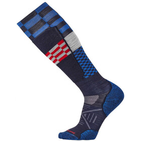 Smartwool PhD Ski Light Elite Pattern Socks Navy